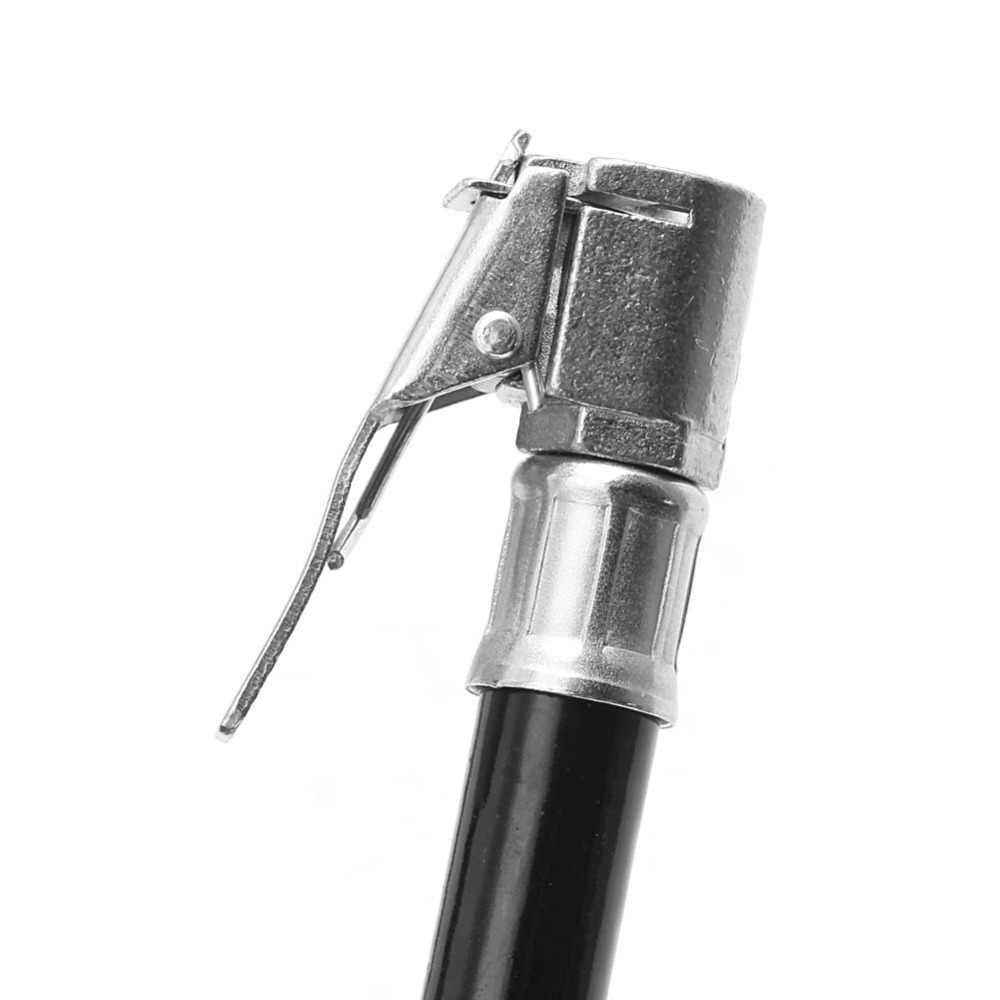 ضواغط هوائية نفخ الزنك سبيكة سيارة نافخة خرطوم مرنة كليب على الهواء الإطارات تشاك أداة المرآب أدوات تجهيز
