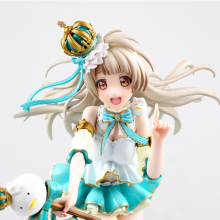 ZXZ 22cm Anime figure Love Live! Minami Kotori PVC Toys Action Figure scale painted Snowman Ver Toys Collection Model