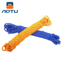 AOTU 8mm Lifeline Parachute Cord Climbing Rope Outdoor Color Escape Rope Outdoor Survival Equipment 5 10