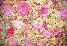 Flores Desabrochando Laeacco Personalizado Cerimônia de Casamento Do Bebê Recém-nascido Foto Cenários de Fotografia Fundos Para Estúdio de Fotografia