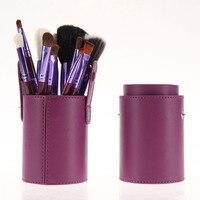 High Quality 12 Pieces Powder Eyelash Concealer Lip Brushes Set Cosmetics Professional Makeup Brush Set Hairbrush