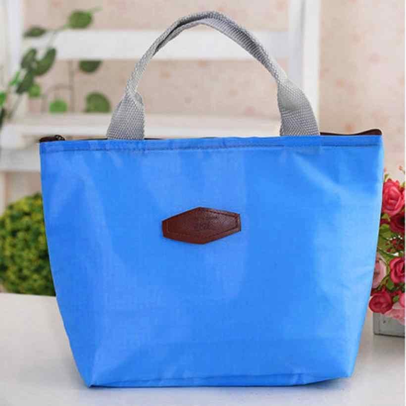 収納袋固体防水ポータブルピクニックパッケージバッグ用食品トート弁当ジッパー近い整理ケース18FEB14