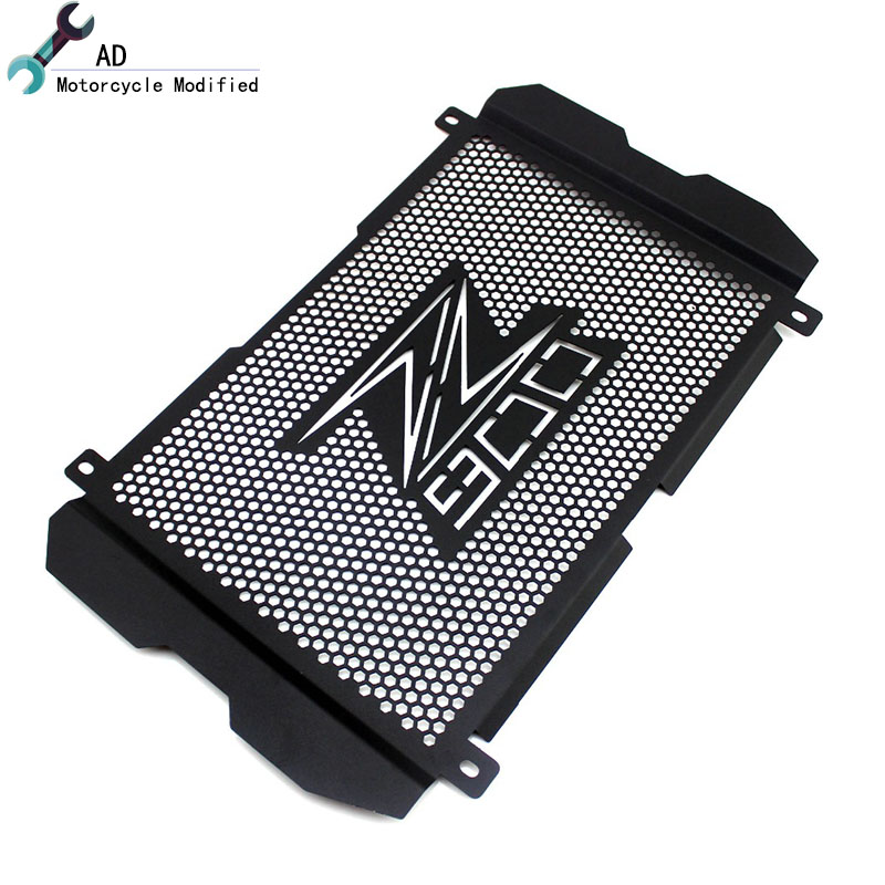 AD Motorcycle Radiator Grille Cover For Kawasaki Z900 2017 Guard Stainless Steel Protection Moto Protetor ! for kawasaki z900 2017 motorcycle radiator guard gloss stainless steel grille bezel radiator net protective cover