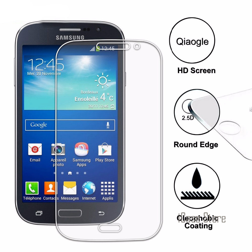 Top Quality 0.26mm Tempered Glass For Samsung Galaxy Grand Duos GT I9082 / Grand Neo i90 ...