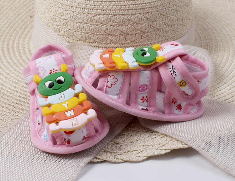 Baby Boy Girls Crib Shoes Infant  summer Baby Shoes Cartoon breathable Baby Shoes Soft Sole First Walkers -03