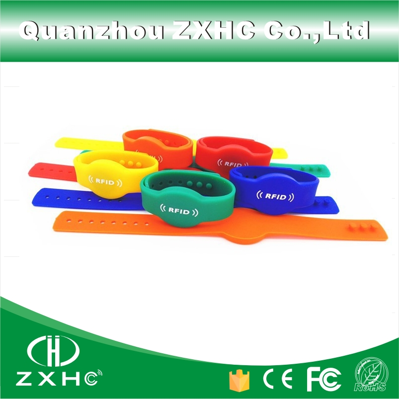 (3PCS) RFID 125 KHz ID Silicone Wristband with TK4100(compatible With EM4100) Read-only in Access Control