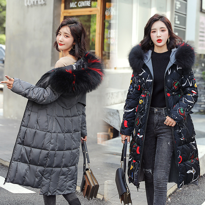 2019 Ho Coat Jacket Double sid Winter jacket Women 39 s Hooded Warm Parkas Hight Quality Female New Winter Collection Parka Coat in Parkas from Women 39 s Clothing