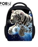 12 Inch Small 3d Animal Backpacks For Children Kindergarten Baby School Bag Cute Pet Cat Printing
