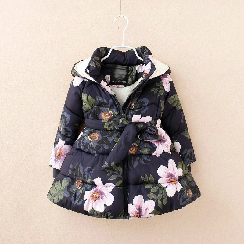 Girls winter coat Children's Parkas Winter Jackets for girls Clothing for girls jacket Clothes for baby girls kids 6-7-8-9Years clever пижамные истории морские сказки