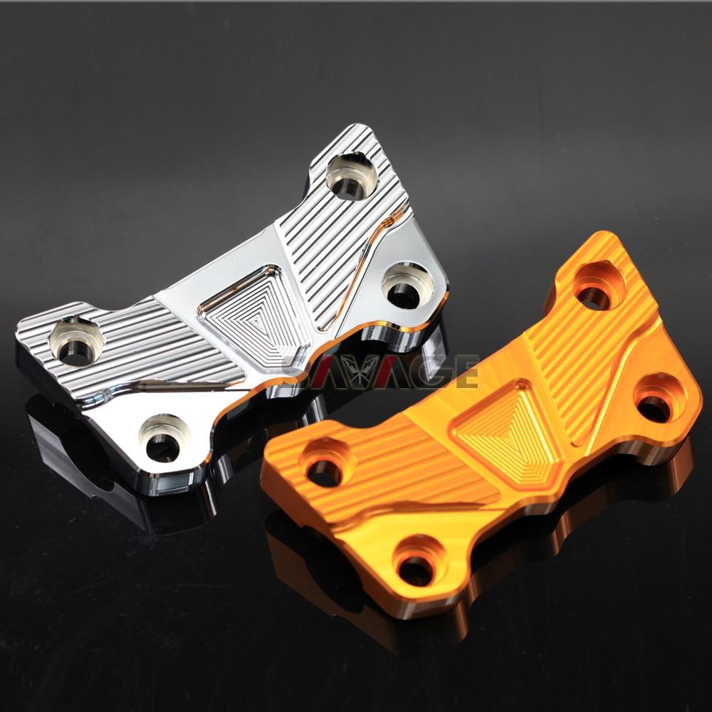 FOR KAWASAKI ER-6N/ER-6F/NINJA 650R/NINJA 650 Motorcycle Accessories CNC Aluminum <font><b>Handlebar</b></font> Clamping Cover Cap Motor Bike