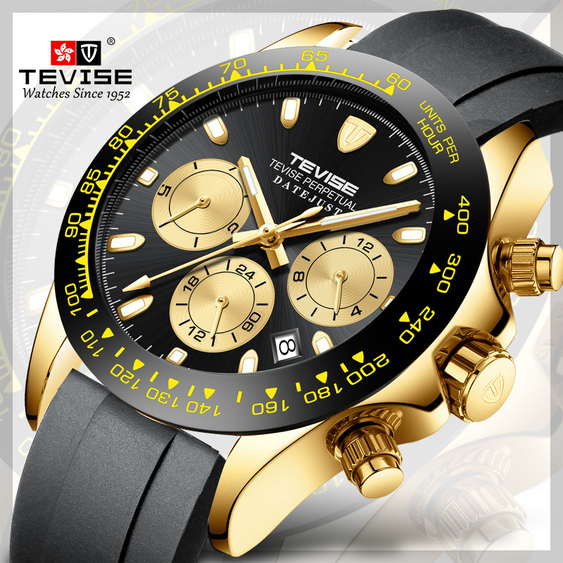Men Watch TEVISE T838A Luxury Watch Mechanical Watch Date Week Month Colorful Automatic Watch Men Clock Male Dropshipping 2019Men Watch TEVISE T838A Luxury Watch Mechanical Watch Date Week Month Colorful Automatic Watch Men Clock Male Dropshipping 2019