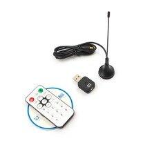 Multi-Langue HD Mini DVB-T Digital Signal USB 2.0 Stick TV Enregistrement En Temps Réel Tuner Récepteur Avec Télécommande