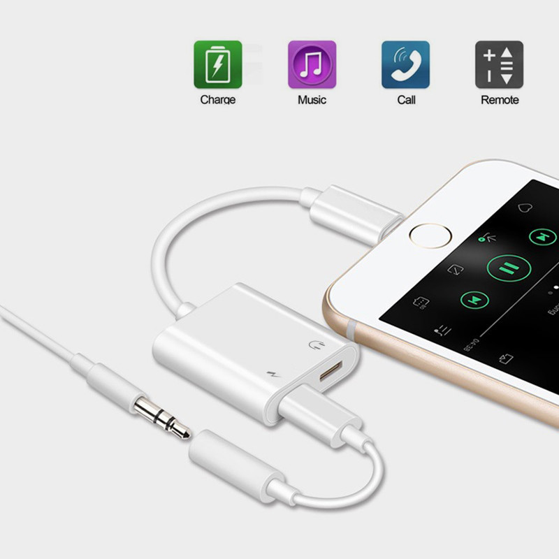 adapter for iphone x to aux jack headphones audio. Black Bedroom Furniture Sets. Home Design Ideas