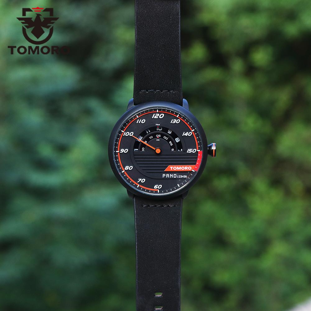 HTB1fC3SMVXXXXa.aXXXq6xXFXXXT TOMORO Men's Unique Racing Car 3D Design Wrist Watch