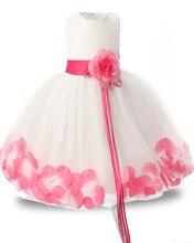 Rose Flower Kids Dresses