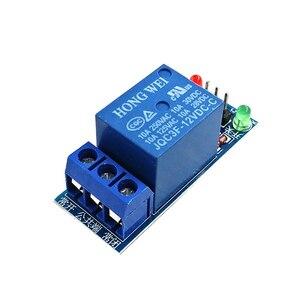 Image 4 - 50PCS 5V/12V/24V a basso livello di trigger One 1 Canale Modulo di Relè Scheda di interfaccia scudo Per Il PIC AVR DSP MCU per Arduino