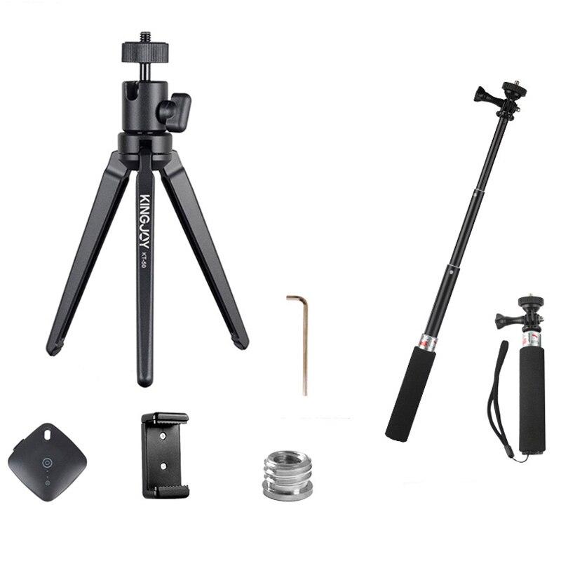 Kinjoy KT-30/50 Mini Trépied Pour Votre Téléphone Par Movil Gorillapod Flexible En Aluminium Caméra Tripode Stand Mobile Tripes Profesional