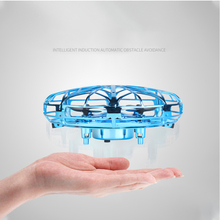 New ABS Electric Suspension Induction UFO Flying Hovering Floating Flight with LED Light Outdoor Toys For Boys Gift