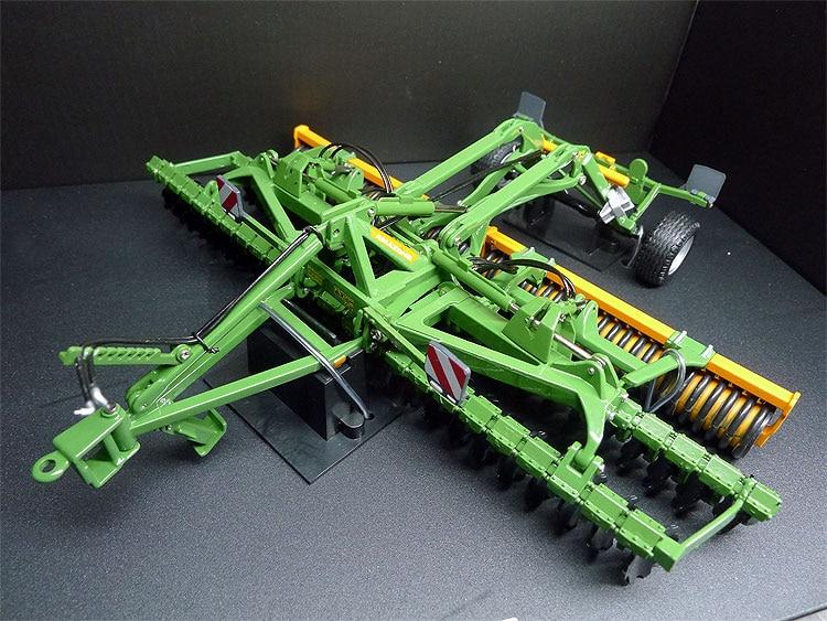 1:32 echelle 5342 6002-2TS _ 32 machine à terres arables charrue alliage tracteur accessoires véhicule agricole modèle Collection modèles miniature