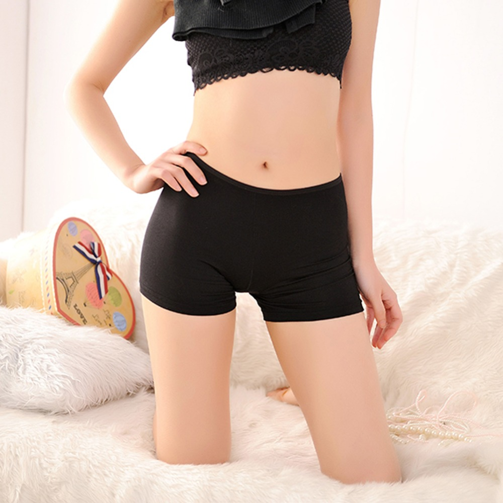 Women Safety Underwear Seamless Modal Shorts Pants Costume Tight Legging