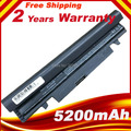 Free shipping New 5200 mAh BATTERY FOR SAMSUNG N145 N148 N150 N250 N250P N260 N260P Plus Black