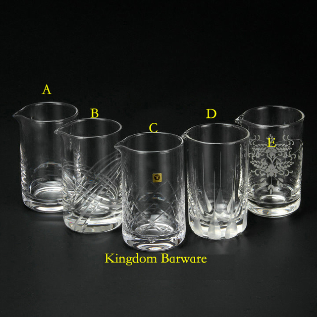 Attractive Japanese Style 580ml Cocktail Mixing Glass Bar Mixing Glass