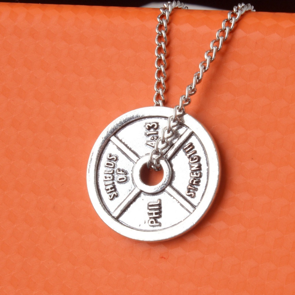 Alloy Fitness Necklace...