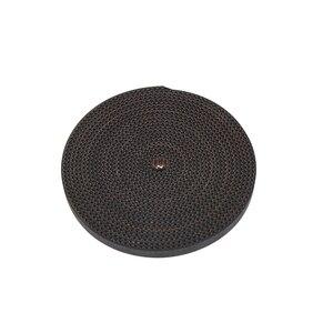 Image 5 - 100 m/partia pu ze stalowym rdzeniem GT2 pas czarny kolor 2GT pasek rozrządu 6mm szerokość do drukarki 3d darmowa wysyłka