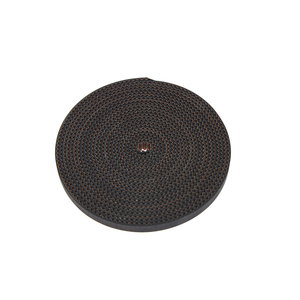 Image 5 - 100M/lot PU with Steel Core GT2 Belt Black Color 2GT Timing Belt 6mm Width for 3d printer Free Shipping