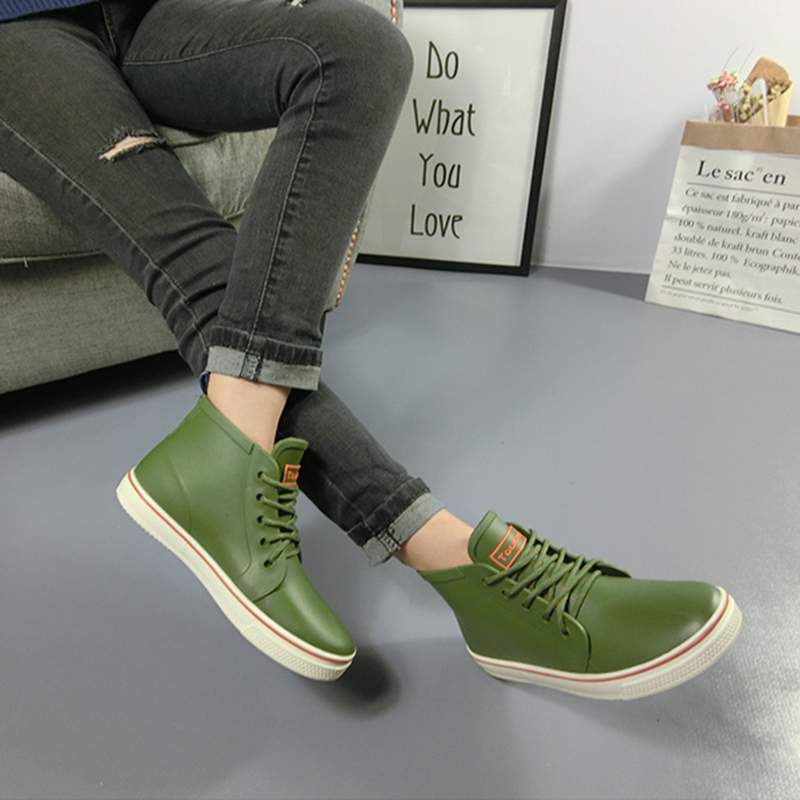 Wasser Rain Kaufen Männer Billige Mode Slip Schuhe Stiefel PkwO8n0