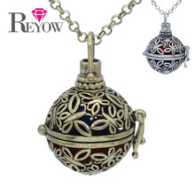 Wholesale 5PCS/lot Copper Hollow Butterfly Floating Locket Pendant Aromatherapy Essential Oil Diffuser Necklace Jewelry