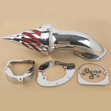 цена на Motorcycle Air Cleaner Intake Filter For Honda Shadow Spirit ACE 750 1998-2013