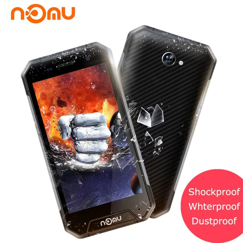 NOMU S30 Mini IP68 Waterproof Smartphone Android 7 0 3GB 32GB MTK6737 Quad Core 8 0MP