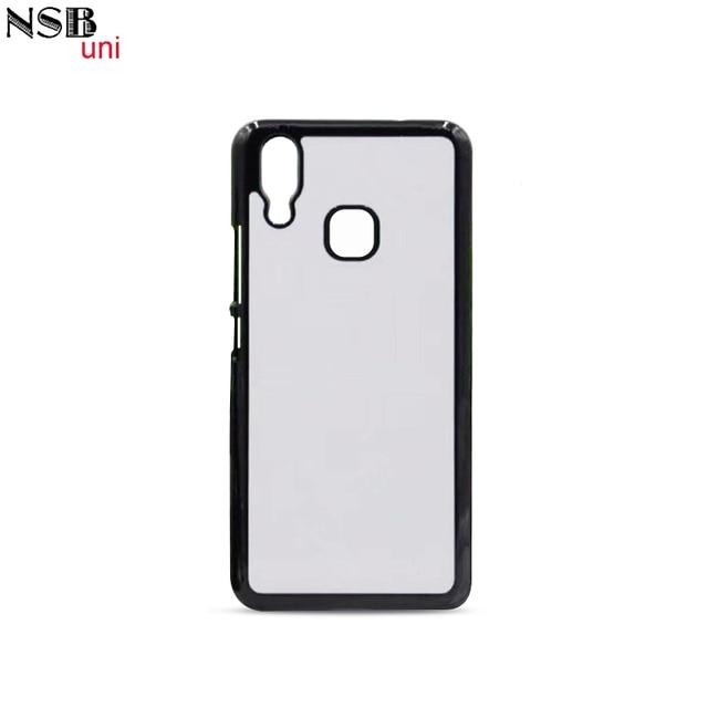 premium selection 3cc8a 8dacf US $0.65 |NSB Uni for Vivo X21 2D Photo Print Blank Phone Covers Plain  Plastic Hard Back Cell Phone Case for Vivo X21 Transfer Back Case-in ...