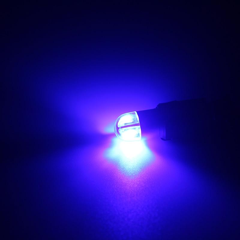 Autós stílusú W5W LED T10 3030 2SMD automatikus lámpák 168 194 - Autó világítás - Fénykép 3