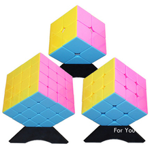 Professional Magic Reliever Stress Twist Puzzle 2x2x2 3x3x3 4x4x4 5x5x5 Cubes For Childs Adult Neo Cubos Magicos Color 50J0146