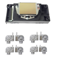 100% new and original For Epson DX5 F187000 Printhead DX5 Gold Face Print Head For Epson Stylus Pro 4880 7880 9880