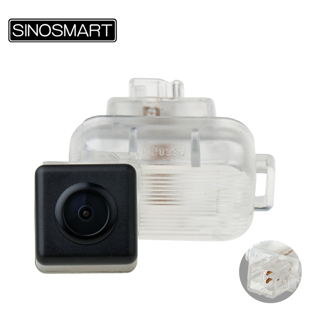 SINOSMART Parking-Reverse-Camera Rearview Install-In-License-Plate Mazda Car HD For ATENZA