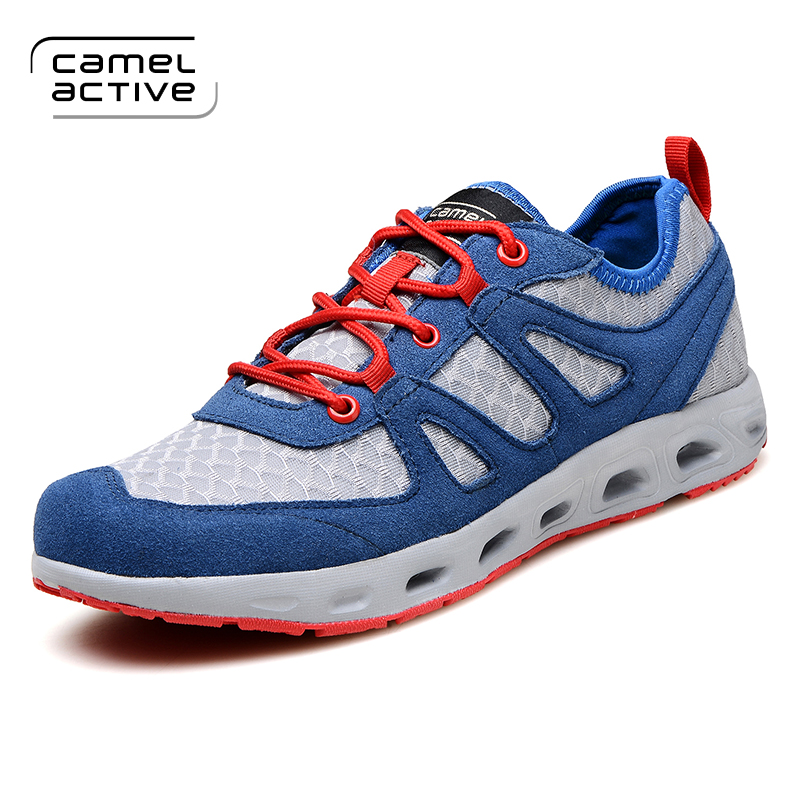 Camel Active Men Sneaker Shoes Big Size Mens Trainers Autumn Spring Casual Shoes Mesh Breathable Shoes Mountain Men's Shoes все цены