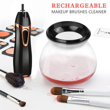 Professional Makeup Brushes Washing Machine Automatic Rotation Cosmetic Brush Cleaner Makeup Brush Cleaning Tool