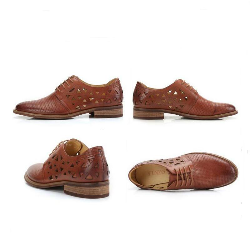 Oxford f Oxford Leder Schuhe Oxford Echtes Leder Schuhe Echtes f Schuhe Leder Echtes 3q4j5RAL