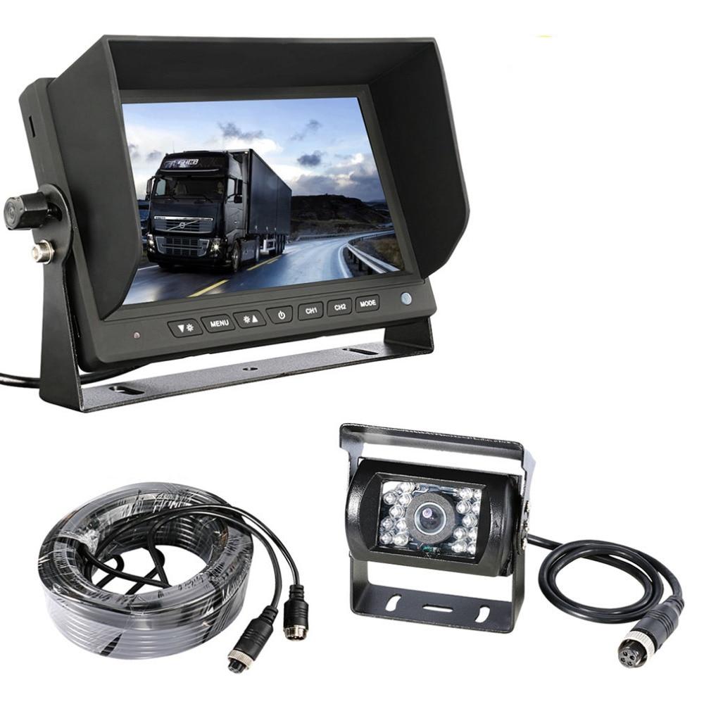 Accfly SONY CCD 4 pin HD car reverse rear view camera for Trucks bus Caravan Van
