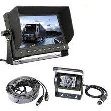 Accfly SONY CCD 4 broches HD inverse de voiture vue arrière caméra pour Camions bus Caravane Van Pelle RV Remorque Campeurs avec Moniteur