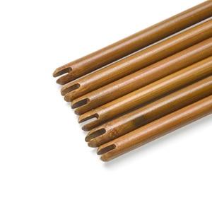 Image 2 - 6/12 pièces tir à larc bambou flèche arbre 83cm bricolage bambou flèche chasse tir composé arc classique flèche cible pratique accessoires