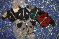 Obitsu11 OB11 poupée manteau soie baseball veste adapté pour 1/12 taille poupée cu-poche OB11 cgc poupée accessoires vêtements de poupée