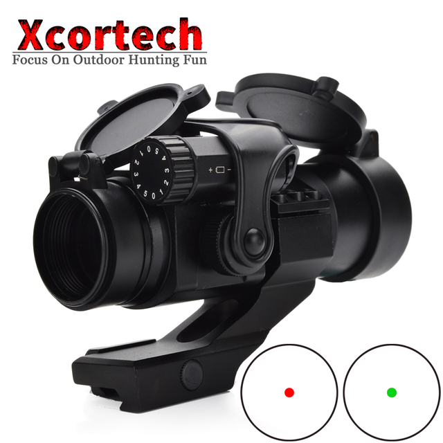 Tactical M2 Red&Green Dot Hunting Aiming Optics Scope 1X30 Holographic Sight Riflescope Collimating Rifle Scope For Hunting