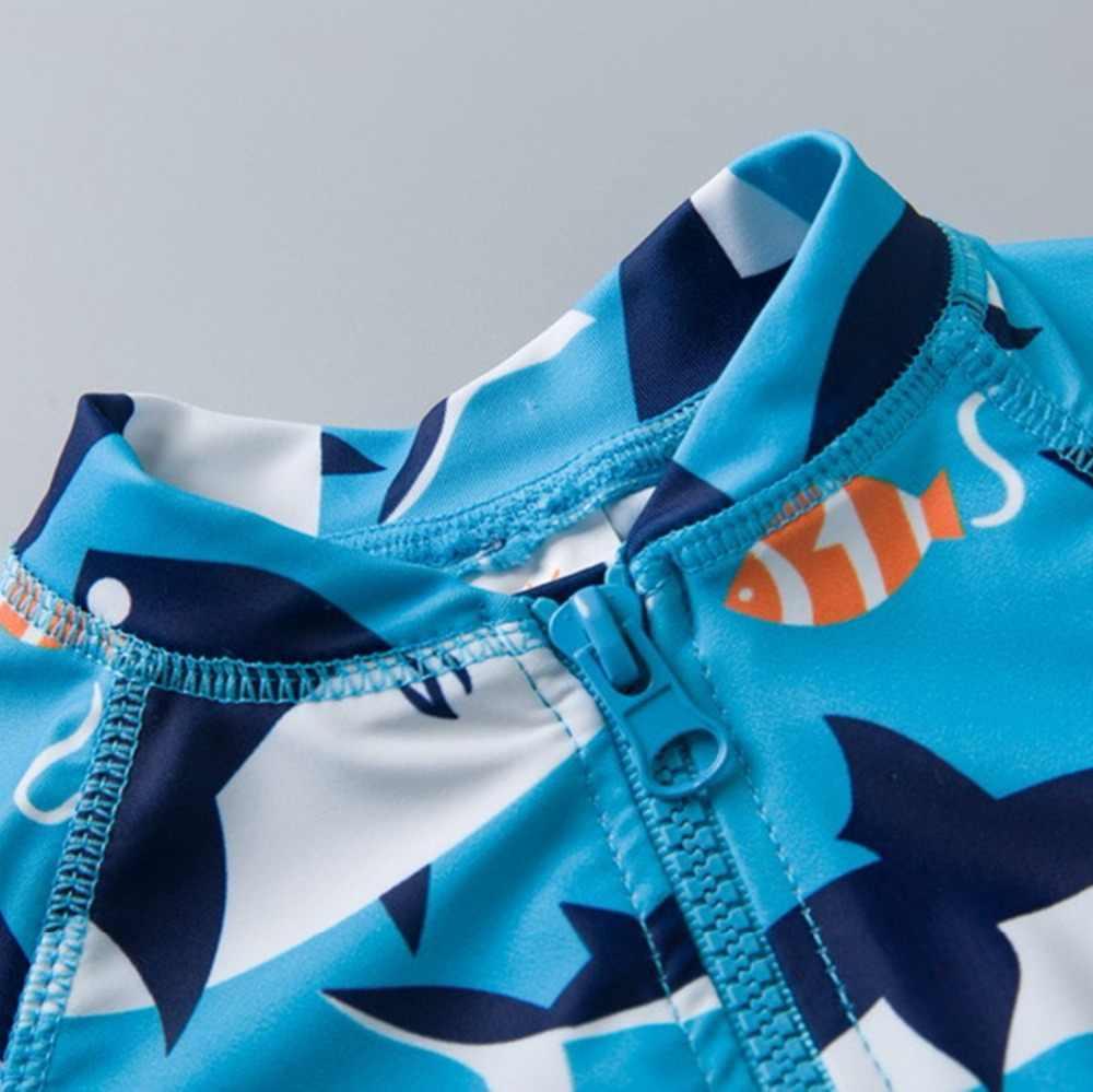 От 0 до 6 лет, брендовый купальный костюм для маленьких мальчиков, УФ 50 + защита от солнца, цельный купальный костюм для маленьких мальчиков, пляжная одежда, костюм для серфинга