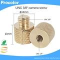 "Camera Screw 3/8"" With Material Copper Mini Tripod Monopod for Three Legs Support Quick Release Plate"
