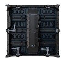 Led Indoor SMD P4 8 Die Casting Aluminum Rental Display Cabinet Size 500x1000mm Black Led For