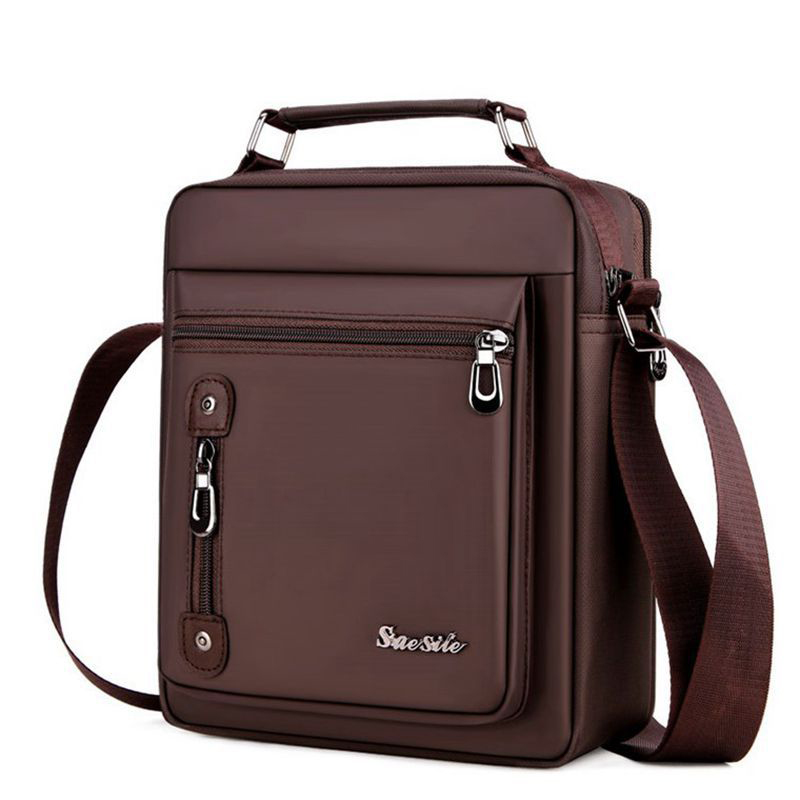 Men 39 s Retro Style Oxford Cloth Material Multi Function Shoulder Bag Men 39 s Casual Business Travel Handsome Messenger Bag in Crossbody Bags from Luggage amp Bags